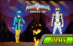 power rangers dress up games to play