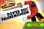 power rangers samurai power disk