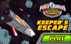 power rangers dino charge keepers escape