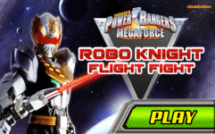 power rangers megaforce robo knight flight fight