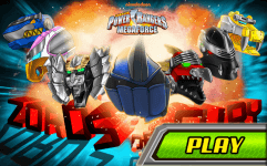 power rangers megaforce zords of fury