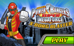 power rangers super megaforce x borg blaster