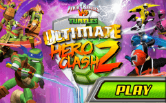 tmnt vs power rangers 2 ultimate hero clash 2